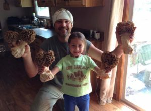 Monster Morel Mushrooms!
