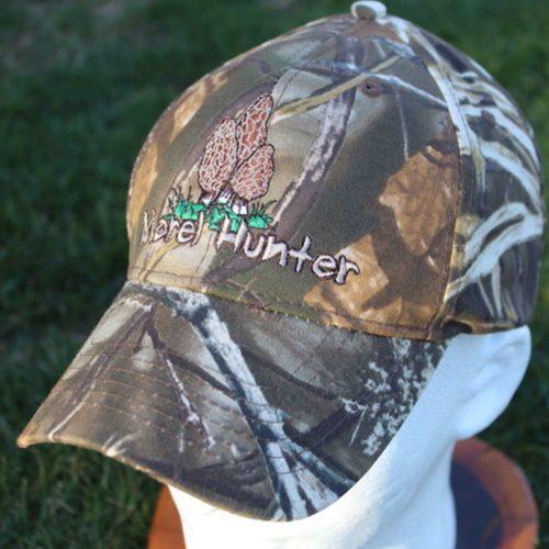 Camo Morel Mushroom Hat