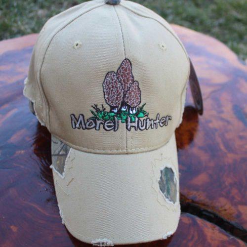 Morel Mushroom Tan/ Camo Hat