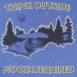 Think Outside - No Box Required Shirt