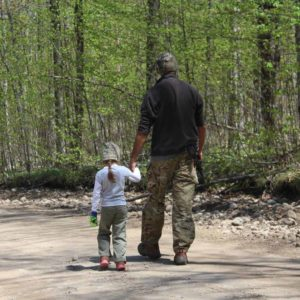 Morel Mushroom Hunting with kids