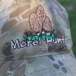 Morel Mushroom Sponge Camouflage Hat
