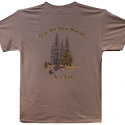 Morel Mushroom Shirt - Not All Who Wander Are Lost