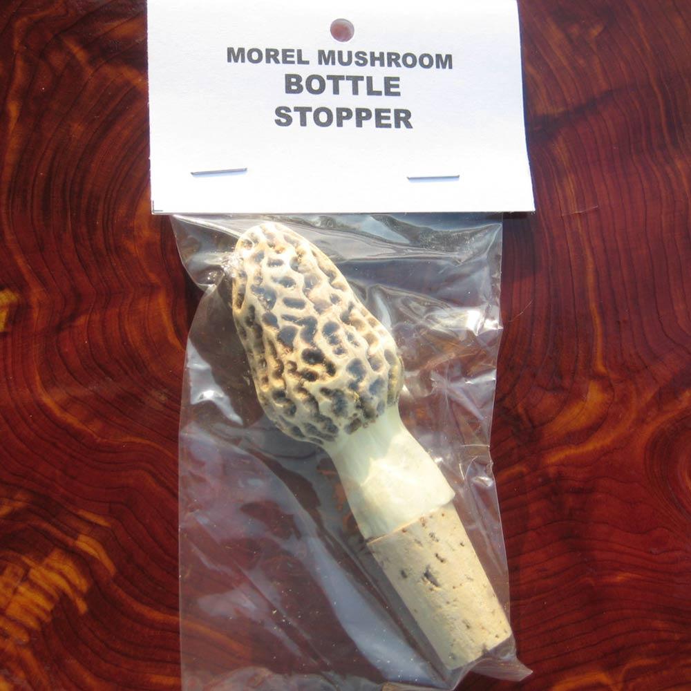 Morel Mushroom Wine Stopper